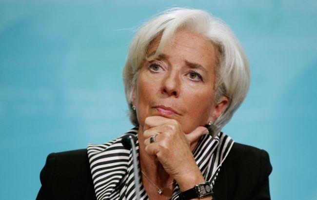 МВФ висловив довіру Лагард попри звинувачення суду у службовому недбальстві