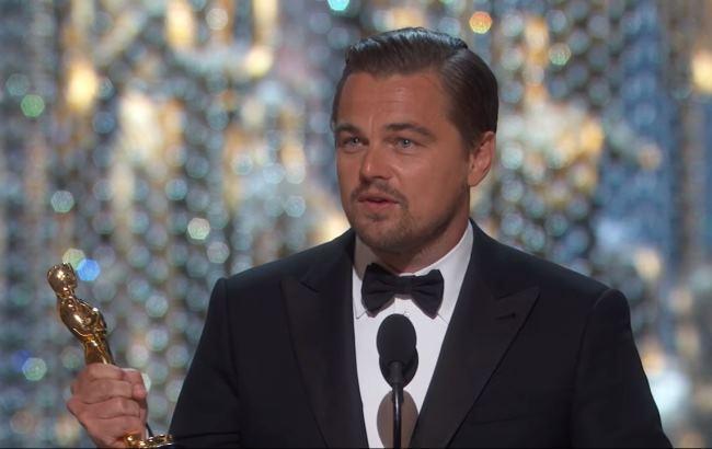 Фото: Леонардо ДиКаприо (Кадр из видео YouTube/Oscars)