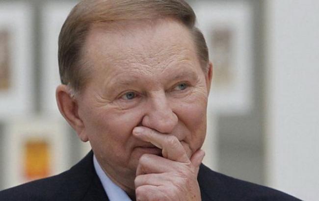 Фото: представитель Украины на переговорах в Минске Леонид Кучма