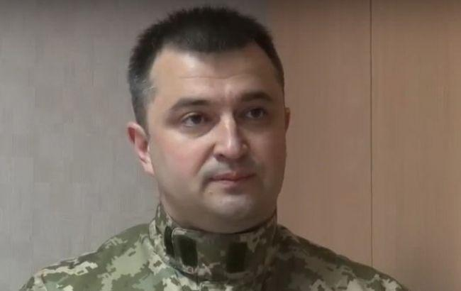 Фото: восстановленный судом в должности военный прокурор АТО КонстантинКулик