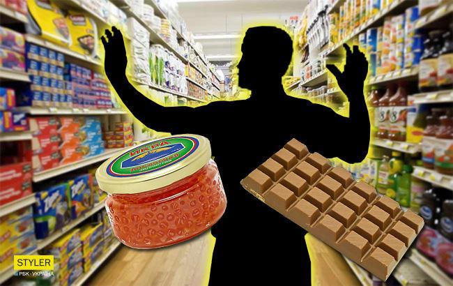 """""""Мы его сожжем"""": в Днепре депутат попался на краже икры и шоколадок из супермаркета"""