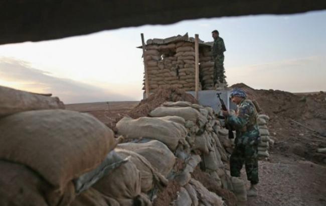 Фото (BBC): курдські бійці в Іраку