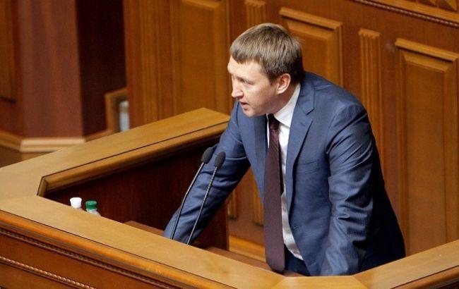 Фото: министр агрополитики и продовольствия Тарас Кутовой