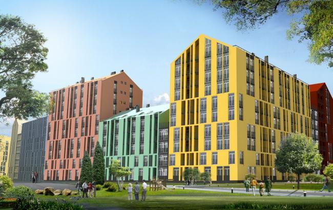 Ціни на нові квартири в Києві за серпень знизилися на 0,19%