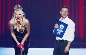 Фото: Полякова і Зеленський (kvartal95.com)