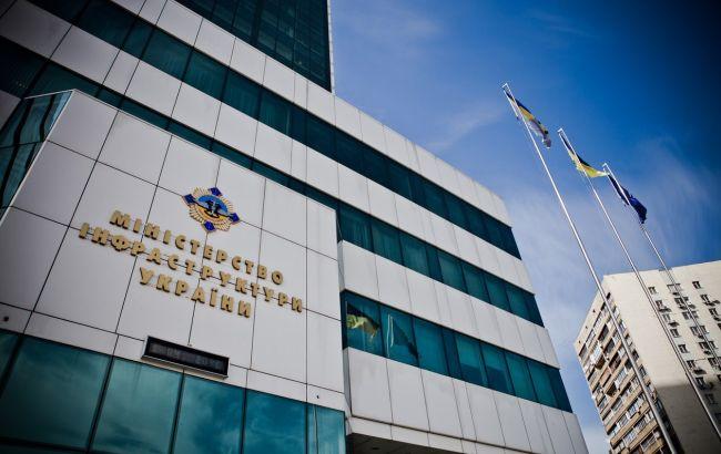 будівля Міністерства інфраструктури України