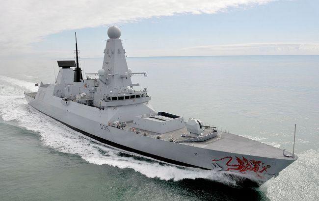 Эсминец военно-морских сил Британии зашел в порт Одессы