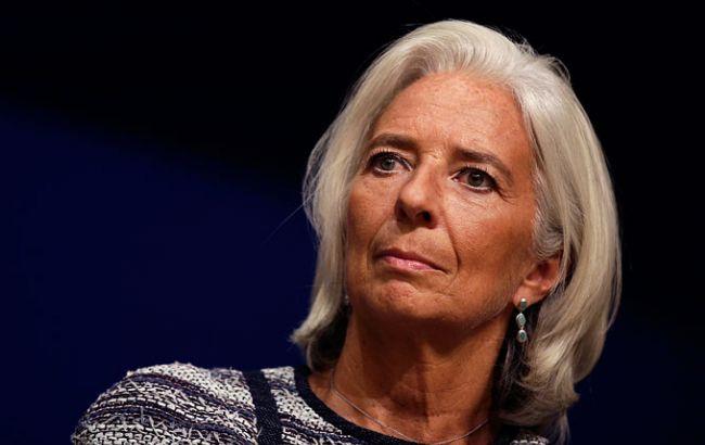 Лагард оголосила про висунення на пост глави МВФ
