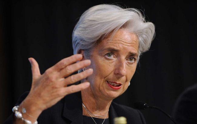 Лагард переизбрана напост директора МВФ на 2-ой срок