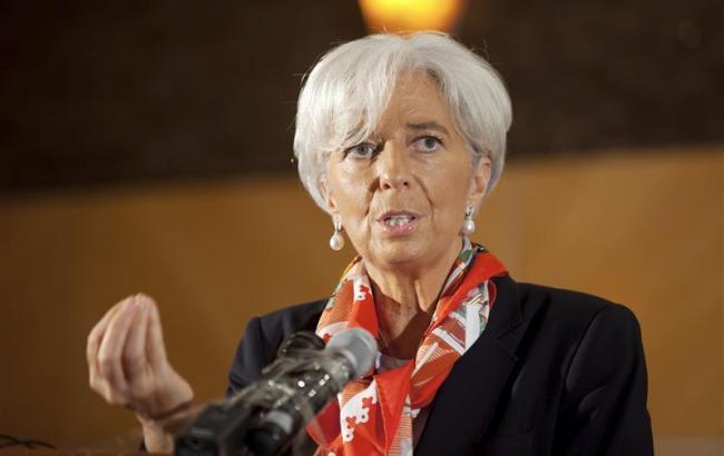 Директор-розпорядник МВФ Крістін Лагард
