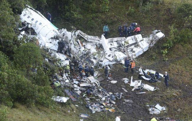 Фото: авіакатастрофа в Колумбії могла статися через брак палива