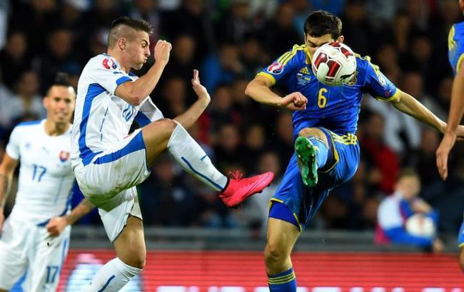Фото: Словаччина - Україна-0:0