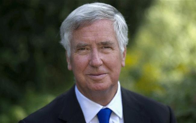 Фото: глава Министерства обороны ВеликобританииМайкл Фэллон