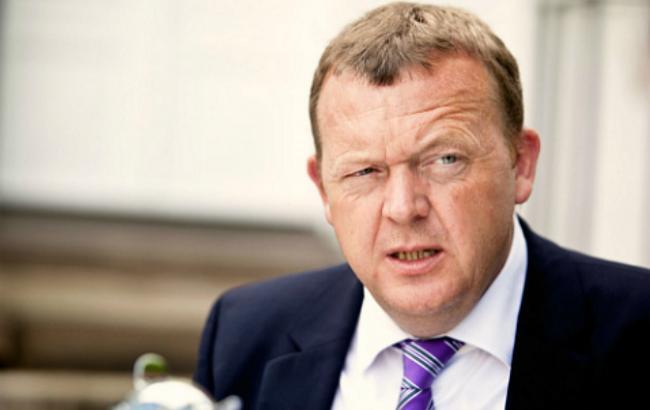 Фото: прем'єр-міністр Данії Ларс Лекке Расмуссен