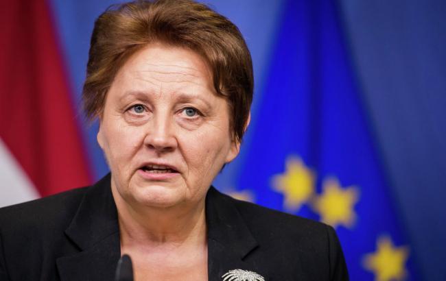Фото: премьер-министр Латвии Лаймдота Страуюма