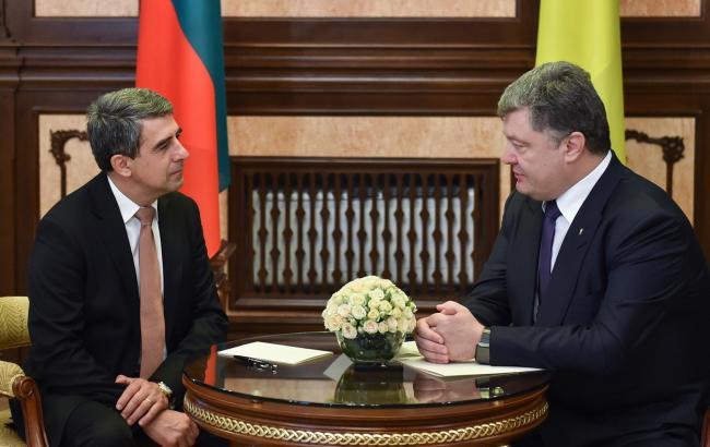Порошенко встретился с Президентом Болгарии