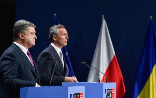 Фото: Столтенберг повідомив, що країни НАТО не визнають анексію Криму