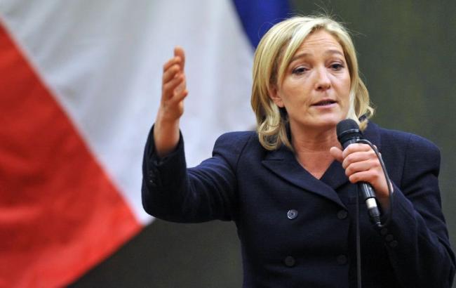 Фото: кандидат в президенты Франции Марин Ле Пен