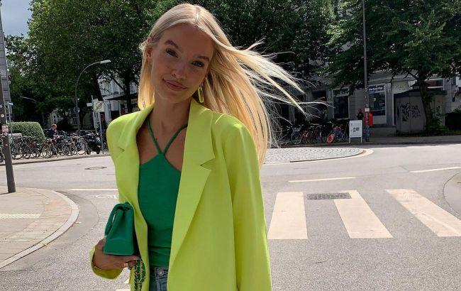 Головний колір сезону: стиліст показала, який відтінок зеленого носити цієї осені