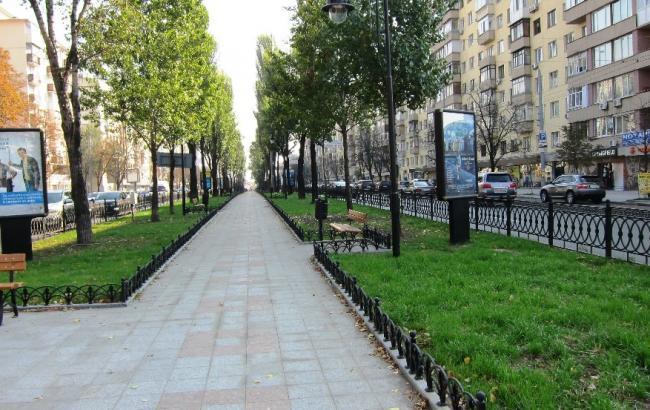 Фото: бульвар Лесі Українки