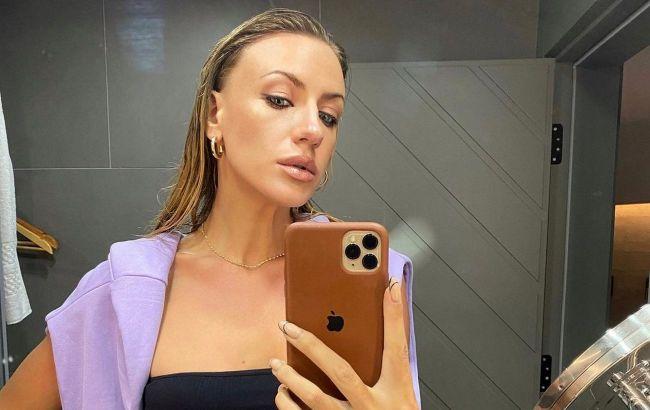 Соблазнительно и стильно: Леся Никитюк показала, как носить трендовые ботинки