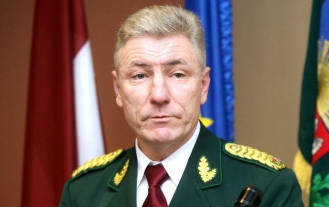 Фото: глава Погранохраны Латвии Нормунд Гарбарс
