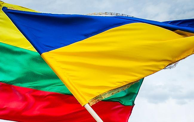 Фото: Флаги Украины и Литвы (flickr.com/Lietuvos Respublikos Seimas)