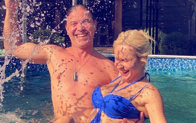 Прекрасна пара: Лілія Ребрик зворушила мережу ніжним знімком з чоловіком Андрієм Диким
