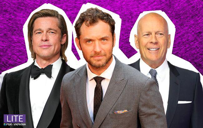 Бред Пітт, Брюс Уілліс, Джуд Лоу та інші – найпривабливіші багатодітні батьки Голлівуду