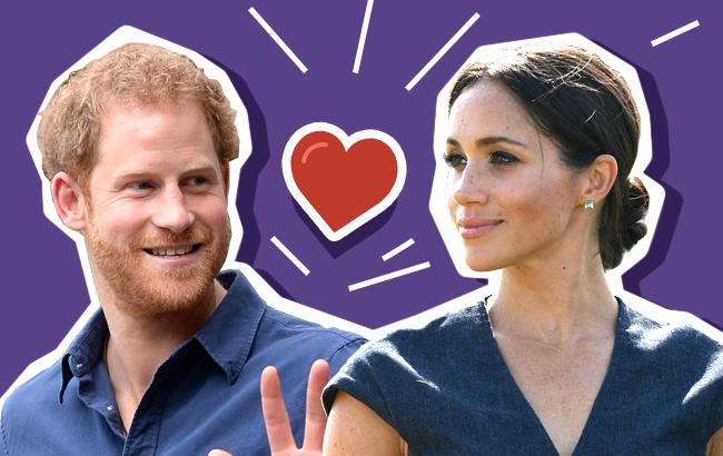 Love story Меган Маркл и принца Гарри: лучшие фото влюбленных