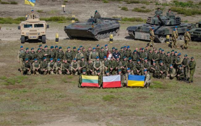 ВР ратифицировала соглашение о создании литовско-польско-украинской военной части