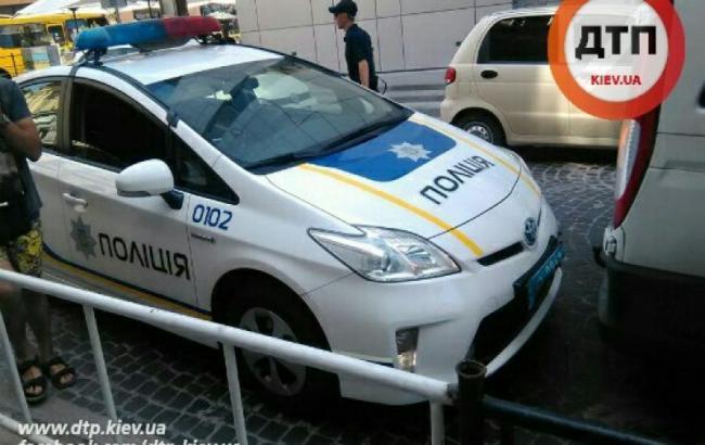 Львовская полиция попала в первое ДТП