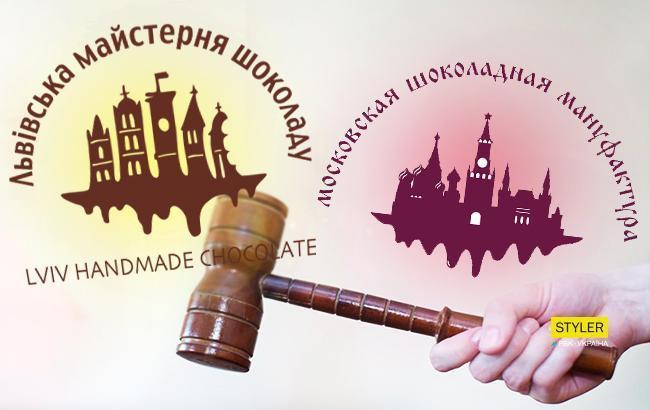 """""""У кого тепер будете красти?"""" У Росії зізналися, що вкрали логотип """"Львівської майстерні шоколаду"""""""