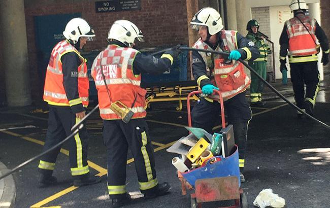 Фото: пожарные Лондона (twitter.com/london fire brigade)