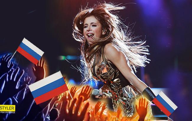 Фото: Концерт Ани Лорак в РФ (Коллаж РБК-Україна)