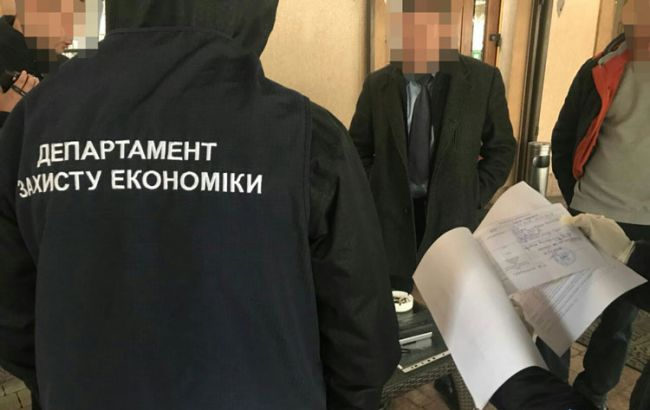 Фото: затримання глави РДА у Львові (Нацполіція)