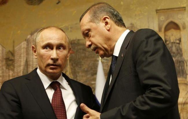 Фото: Эрдоган и Путин впервые провели переговоры для налаживания отношений между странами