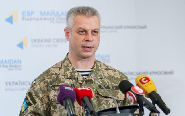 У зоні АТО за добу поранено 4 українських військових, загиблих немає, - Лисенко