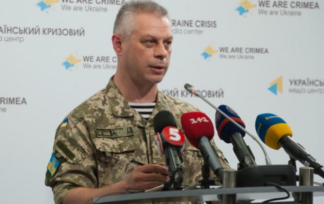 В зоні АТО за добу загинули 5 військових, 4 поранені