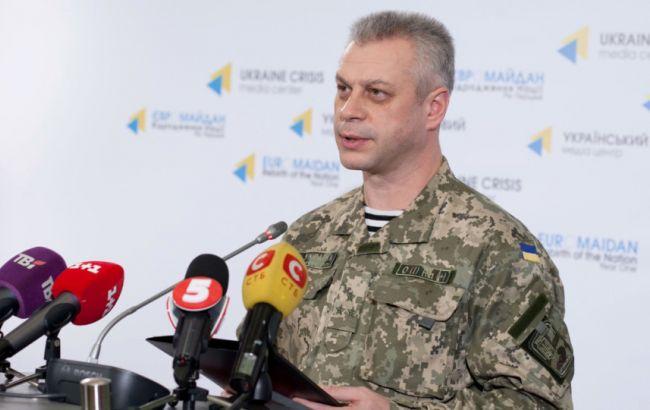 Лисенко: бойовики обстріляли сили АТО в Широкиному