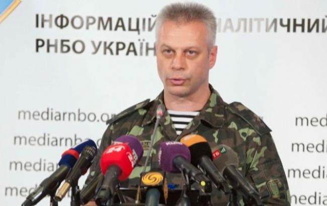 У Луганській обл. на окупованій території бойовики проводять тактичні заняття, - штаб