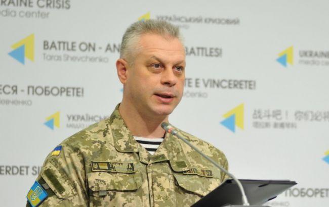 Фото: спикер Министерства обороны Украины по вопросам АТО Андрей Лысенко