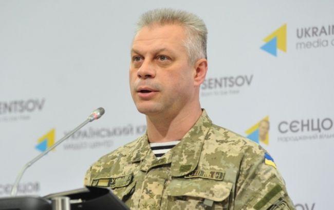 Фото: пресс-секретарь Министерства обороны Украины по вопросам АТО Андрей Лысенко