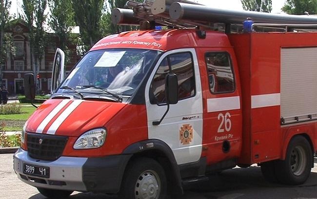 Впроцессе ликвидации пожара вКривом Роге пострадало трое спасателей