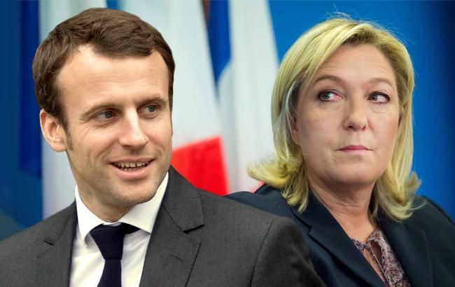 Еммануель Макрон і Марін Ле Пен будуть боротися за пост президента Франції у другому турі