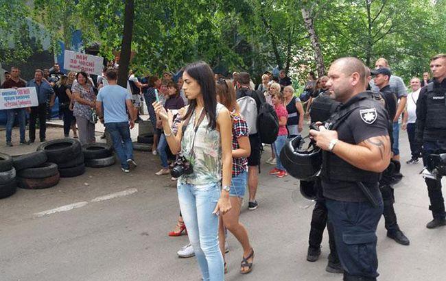 В Донецкой области начались протесты из-за подсчета голосов