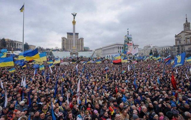Друга річниця Майдану: Україна згадує Революцію Гідності