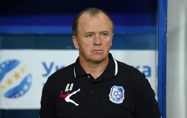 Клуб украинской Премьер-лиги остался без основного тренера