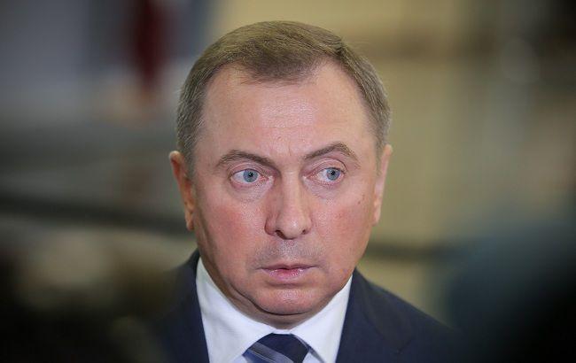 Фото: міністр закордонних справ Білорусі Володимир Макей