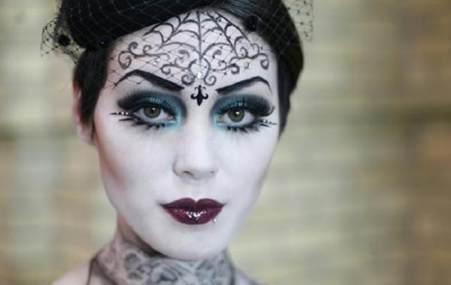 Фото: Макіяж на Хеллоуїн (for-your-beauty.ru)